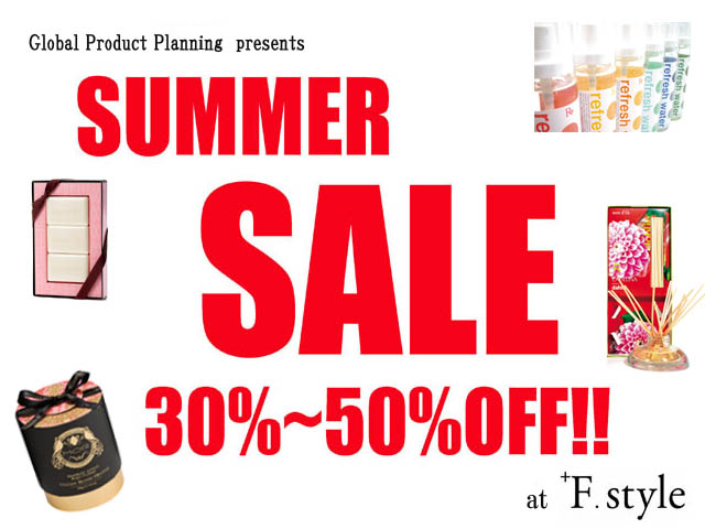 SUMMER SALE at+F.style